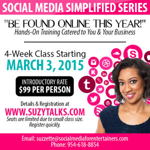 Social Media Simplified Series March