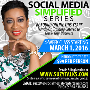 Social Media Simplified Series March 2016
