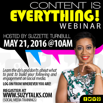 Content is EVERYTHING! Webinar